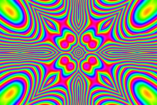 Free Colourful Kaleidoscopes